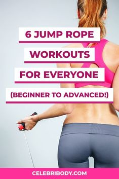 The best total-body workouts are ones you look forward to doing. Can you say that about the treadmill? Weve rounded up the best jump rope workouts thatll leave you drenched in sweat and a littler fitter in just a few minutes. Fitness Workouts, Fun Workouts, Fitness Tips, Body Workouts, Workout Routines, Beginner Workouts, Fitness Motivation, Body Exercises, Fitness Routines