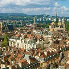 C'est Dijon, France.