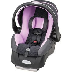 Evenflo Embrace 35 Infant Car Seat, Stephanie (not the one I want, but over $100 cheaper than the one I want. And this is just as safe)