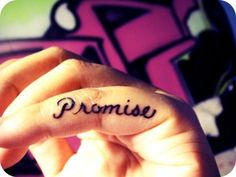 Pinky Promise Tattoo.
