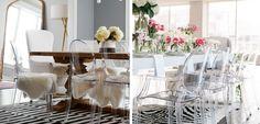 Muebles transparentes para decorar el hogar - http://www.decoora.com/muebles-transparentes-para-decorar-el-hogar/