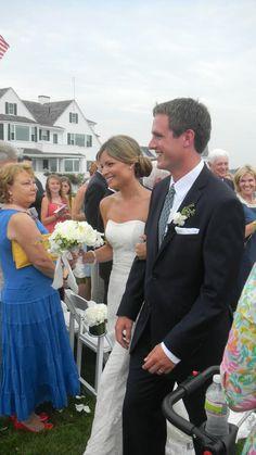 Hyannis Port, Saturday July 7, 2012 - The wedding of Matthew Rauch Kennedy and Katherine Lee Manning.  Matthew is the son of former Congressman Joe Kennedy II and Sheila Rauch (divorced).