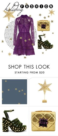 """""""holiday fashion"""" by janesmiley ❤ liked on Polyvore featuring Biltmore, MR by Man Repeller, Marc Jacobs and Elie Saab"""