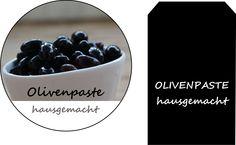 Etiketten Olivenpaste