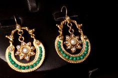handcrafted ethnic jewelry   Stone Handmade Ethnic Jewelry Designs Kante_ear-wear. jpg (2)
