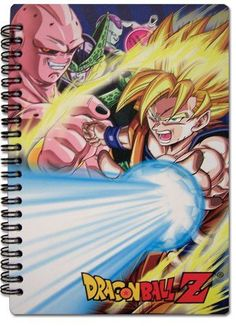 Great Eastern Entertainment Dragon Ball Z SS Goku & Villains Notebook
