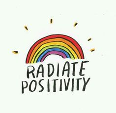 Positive x Positive = Postive Positive x Negative = Negative  + Don't half ass your thoughts, actions, and feelings +  + When you radiate positivity, you attract positivity+