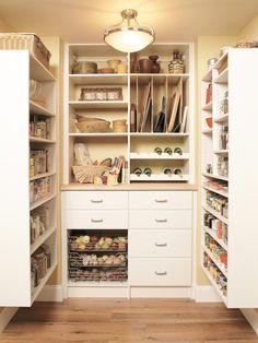 Dream Kitchen Storage >> http://www.hgtvremodels.com/kitchens/pantry-options-and-ideas-for-efficient-kitchen-storage/pictures/index.html?soc=pinterest#