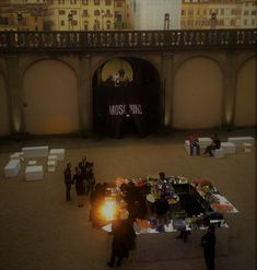 Special Party for Pitti Fashion Fair in Florence special guest MOSCHINO with Katy Perry Catering Open Bar