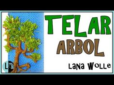 Tutorial TELAR ÁRBOL Decorativo 1 Paso a Paso Tapiz Wall Hanging TREE. Wandteppich BAUM. Lana Wolle - YouTube Tapestry Weaving, Loom Weaving, Handmade Crafts, Diy And Crafts, Hanging Tree, Ideas Paso A Paso, Weaving Projects, Youtube, Weaving Patterns
