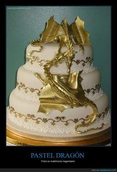 PASTEL DRAGÓN - Para un matrimonio legendario