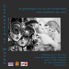 #Carnevale al #Museo a Recanati #GrandTourCultura #Marche. #mask