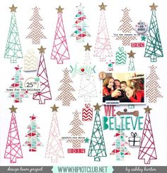 Designer @ashleyhorton75 is up on our blog with an amazing Christmas LO using…