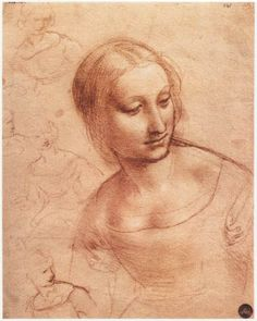 Leonardo da Vinci | Study for Madonna with the Yarnwinder