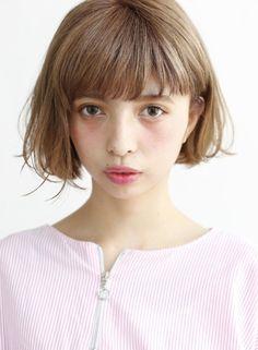 かわいいふわボブ【DECO】http://beautynavi.woman.excite.co.jp/style/detail/52895?pint≪ #bobhair #bobstyle #bobhairstyle #hairstyle・ボブ・ヘアスタイル・髪型・髪形 ≫