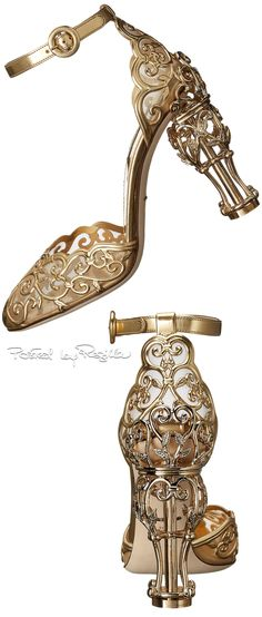 Regilla ⚜ D&G I like the idea of these worn with a real fairytale gown.
