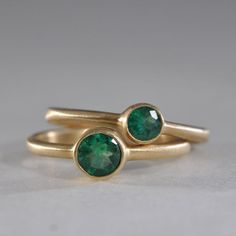 These are by the guy who made my ring - One Stone New York