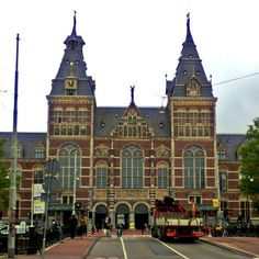 Rijksmuseum in Amsterdam, Noord-Holland - This museum has a great combination of Dutch history and artwork. (Chelsea Bellomy '16)
