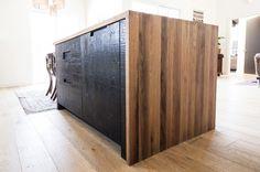 BEN RIDDERING design & woodcraft: Modern-Rustic Kitchen Island - modern - Spaces - San Luis Obispo - BEN RIDDERING design & woodcraft