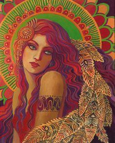 """Beautiful Bohemian"" par Emily Balivet"