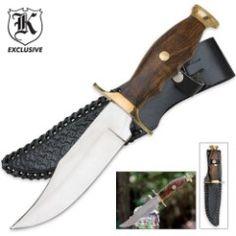 Mountain Man Classic Hunting Knife & Sheath