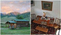 12 Amazing Holiday Getaways Under $100-Livingston, Montana  Located at the base of the Absaroka-Beartooth Mountains, this cabin can comfortably accommodate four people and is 20 minutes from Livingston and 10 minutes from Chico Hot Springs resort. Rate: $90/night
