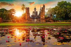 Los templos son un reclamo de los que viajan a Tailandia por turismo