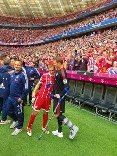 Philipp Lahm and Manuel Neuer, Fc Bayern