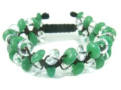 BB0924N Aventurine Clear Quartz Natural Crystal Gemstone Knot Bracelet - See more at: http://waggashop.com/wagga-shop-bb0924n-aventurine-clear-quartz-natural-crystal-gemstone-knot-bracelet