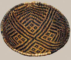 Artifact Gallery - Basket - Mesa Verde National Park (U. Native American Baskets, Native American Pottery, Native American Indians, Native Americans, Indian Baskets, Bubble Art, Native Indian, Ancient Art, Basket Weaving