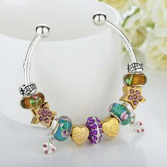 High Quality Bangle for Women With Murano Glass Beads Best Friend | Buycoolprice