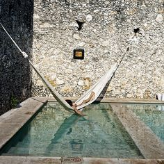 Piscine au Mexique …
