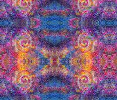 GlassBead_Buddha_3rd_eye fabric by serenityseyes on Spoonflower - custom fabric