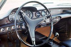 1970 Volvo P1800E Interior