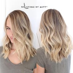 "Matt Rez on Instagram: ""Dimensional Blonde Color by @balayagebymatt"""