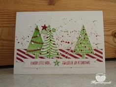 Magical Scrapworld: A merry little wish, Stampin' Up! festival of trees