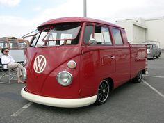 VW Volkswagen Split Bus | Explore KDFKID's photos on Flickr.… | Flickr - Photo Sharing!