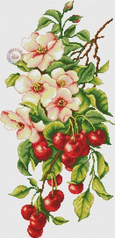 Cross stitch supplies from Gvello Stitch Inc. Hundreds of cross stitch products available delivered world-wide at affordable prices. We sell cross stitch kits, needles, things you need to make beautiful cross stitch designs. Cross Stitch Fruit, Cross Stitch Kitchen, Cross Stitch Rose, Cross Stitch Flowers, Cross Stitch Kits, Cross Stitch Designs, Cross Stitch Patterns, Cross Stitching, Cross Stitch Embroidery