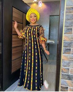 Shaffy African dress / African dress / African print dress for women / African dresses / African clothing African Lace Styles, Latest African Fashion Dresses, African Dresses For Women, African Attire, African Style, African Women, African Print Dress Designs, African Print Dresses, African Print Fashion