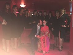 Mika and Dita Von Teese at Crazy Horse in March 2016, Paris