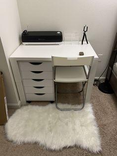 Desk from IKEA, drawer from Michaels Cute Bedroom Decor, Room Design Bedroom, Teen Room Decor, Room Ideas Bedroom, Lego Bedroom, Childs Bedroom, Kid Bedrooms, Ikea Bedroom, Boy Decor