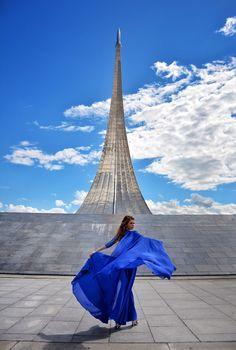 #MyDressStories in Moscow, photoshoot wearing flying dress, фотосессия на ВДНХ в платье    My dress stories фотосессии в платьях в разных уголках мира фотопроект блогера Ninelly