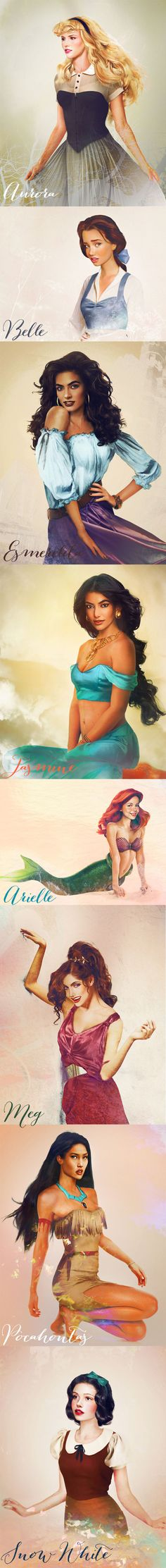 Disney Princesses in real life! so beautiful
