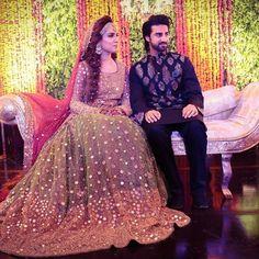 Stunning @hurriya.malik.parvez wearing her own creation !!