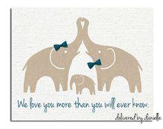 Nursery Art Print   Elephant  8x10 by DeliveredByDanielle on Etsy, $15.00