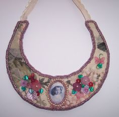 Beading Arts: Bead-embroidered heritage necklace