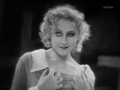 Brigitte Helm in Metropolis (1927). See her Friday, July 13, at this summer's San Francisco Silent Film Festival, in The Wonderful Lie of Nina Petrovna (1929). http://www.silentfilm.org