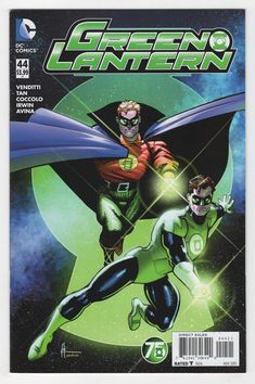 Green Lantern #44 Howard Chaykin Variant Cover (2015)