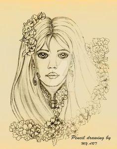 Pencil-drawing by Claudiomyart