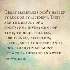 Love this quote regarding marriage! So true!